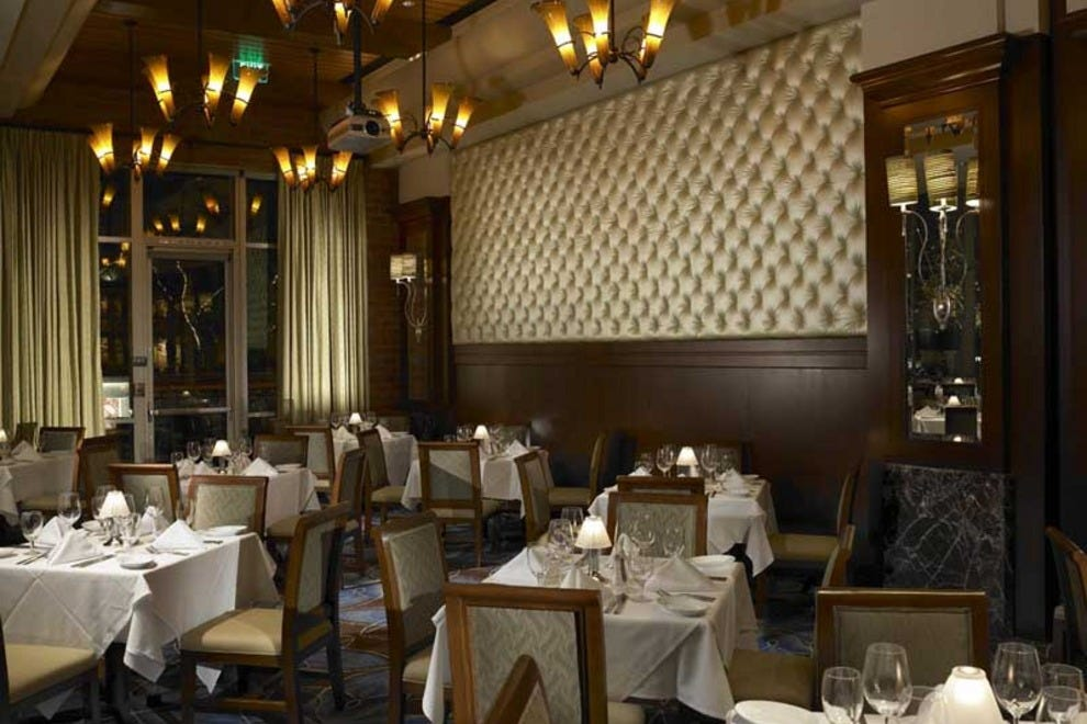 Ruth 39 s chris steak house palm springs restaurants review for Best private dining rooms toronto