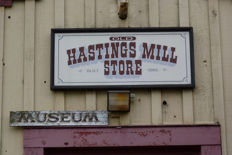 Hastings Mill Store Museum