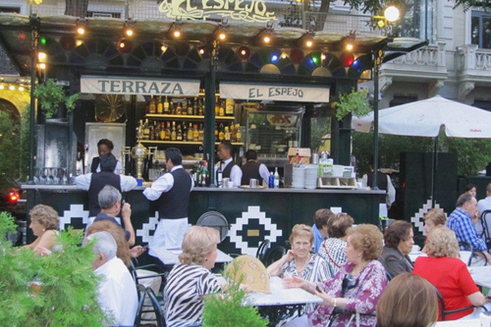 El espejo madrid restaurants review 10best experts and for Cafe el jardin madrid