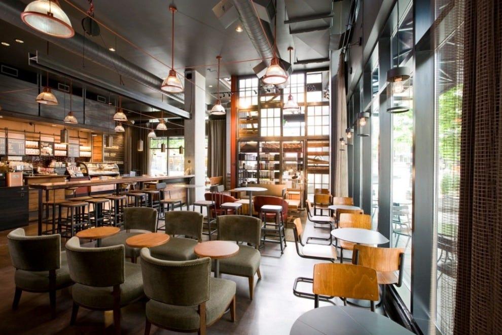 Starbucks palm beach west restaurants review