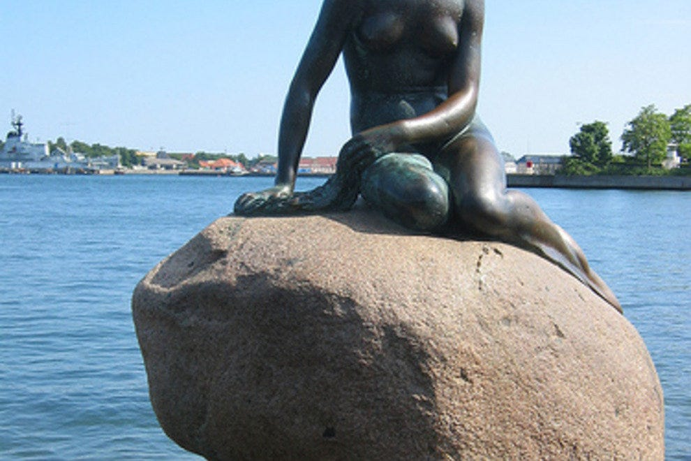 Little Mermaid Statue