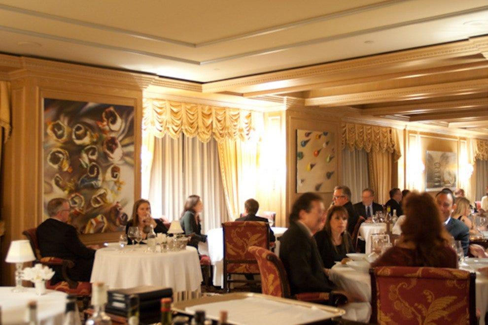 The Dining Room At Ritz Carlton San Francisco