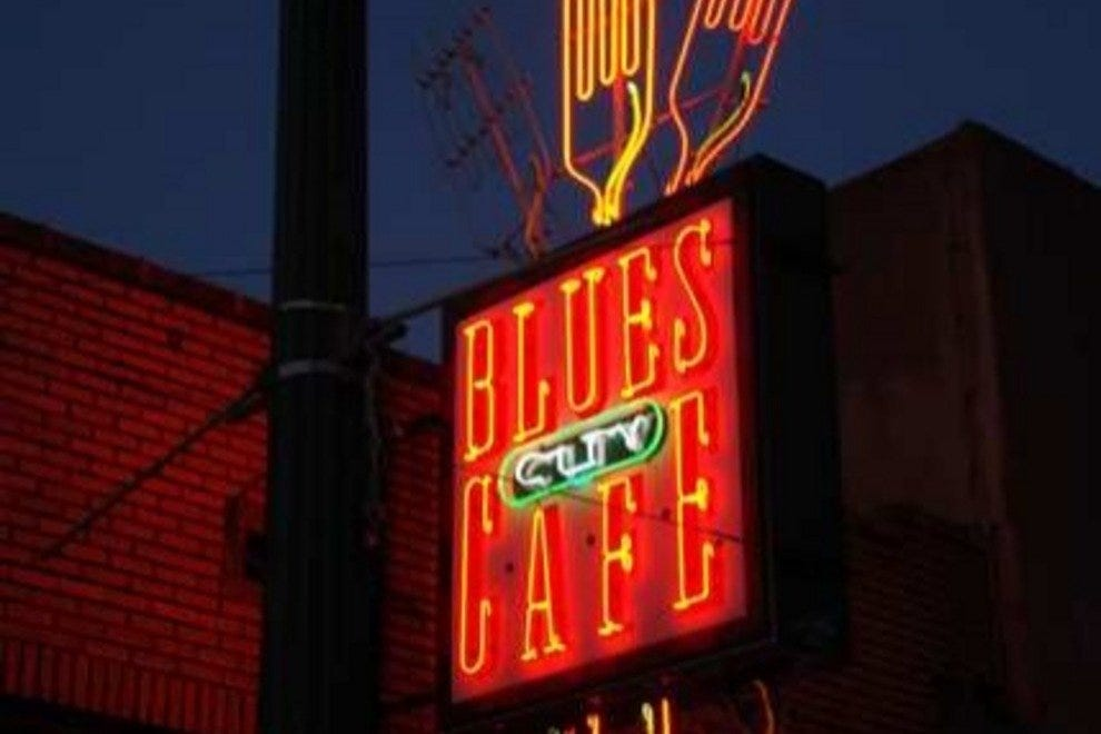 Blues City Cafe Menu Memphis