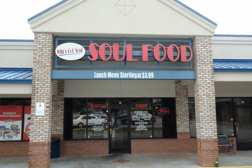 Soul food restaurants near me
