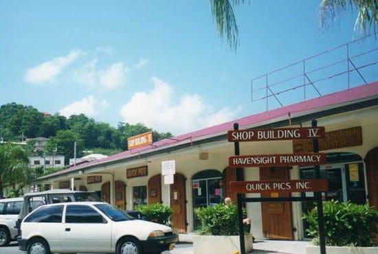 Havensight Mall St Thomas Virgin Islands