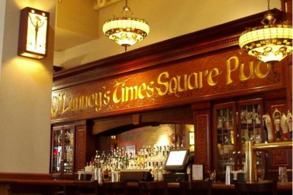 Photographs irish pub nyc times square - borzii