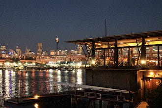 Boathouse on Blackwattle Bay