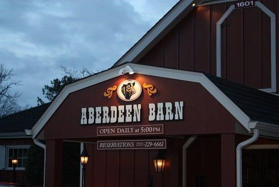 Aberdeen Barn Williamsburg Restaurants Review 10best
