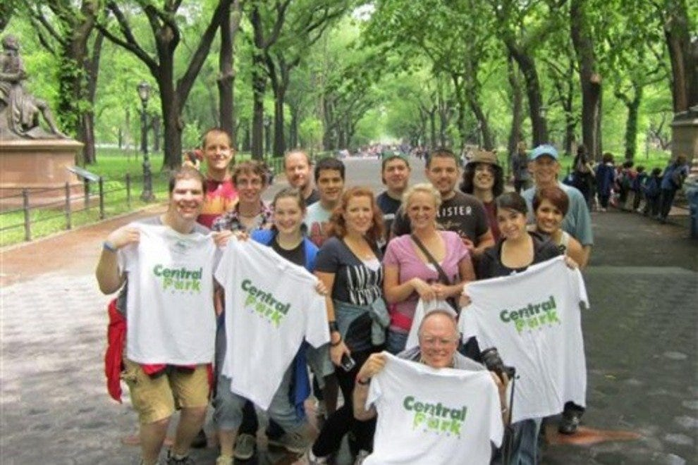 Central Park Walking Tours