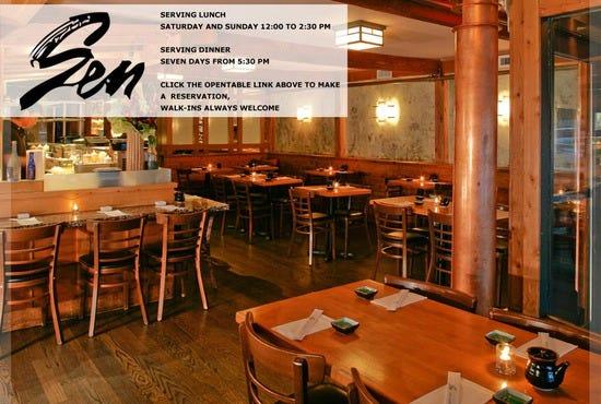 Sen long island restaurants review best experts and