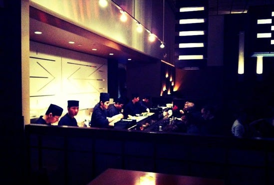Douzo Modern Japanese Restaurant Lounge Boston Ma