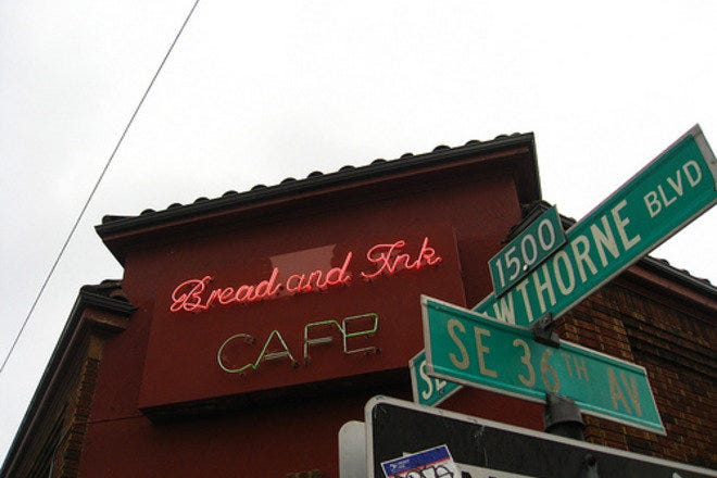 Bread and Ink Cafe