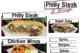 Philly Steak & Wings