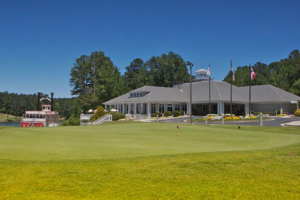 Stone Mountain Elevation Change : Stone mountain golf course lakemont atlanta attractions