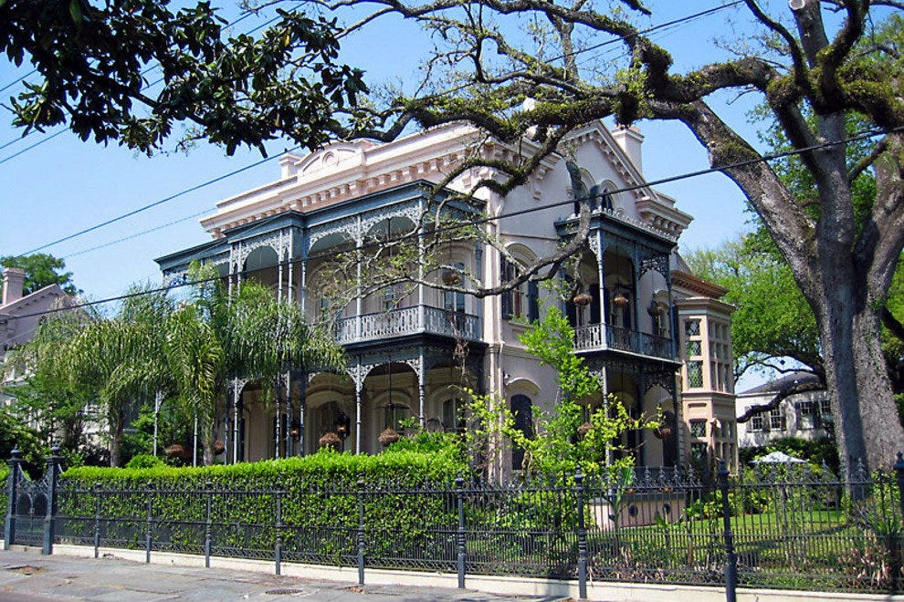 Garden district walking tour new orleans attractions Garden district new orleans