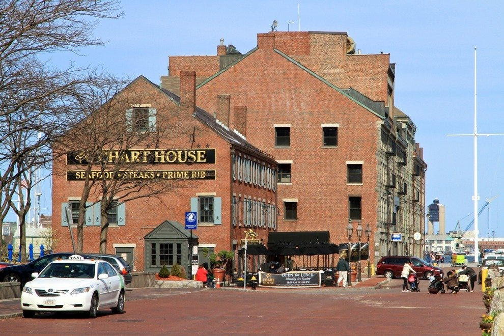 Chart House Restaurant Boston