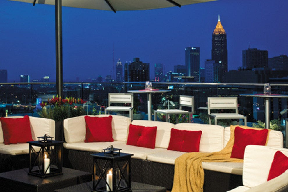 Skylounge At The Glenn Atlanta Nightlife Review 10best
