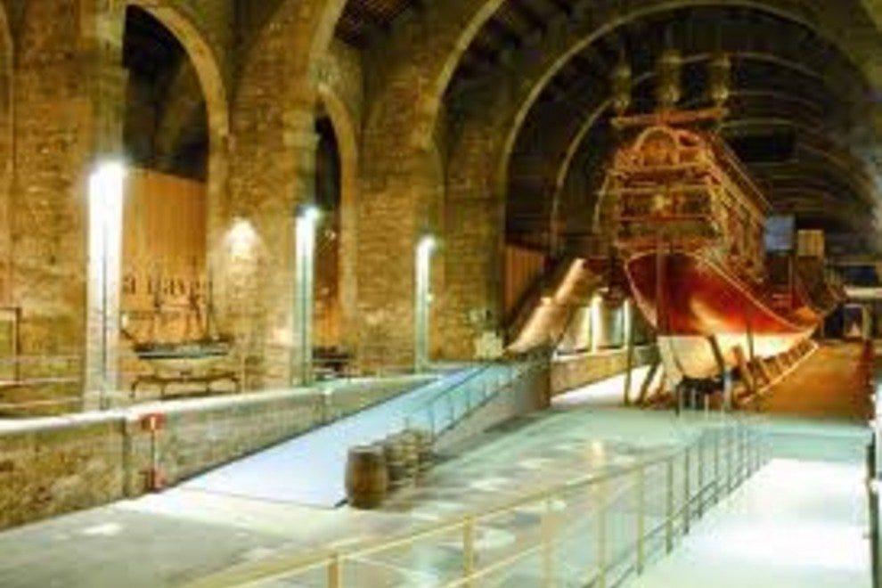 Морской музей Музеи Барселоны Музеи Барселоны p Maritime Museum  Barcelona 54 990x660 201405311837