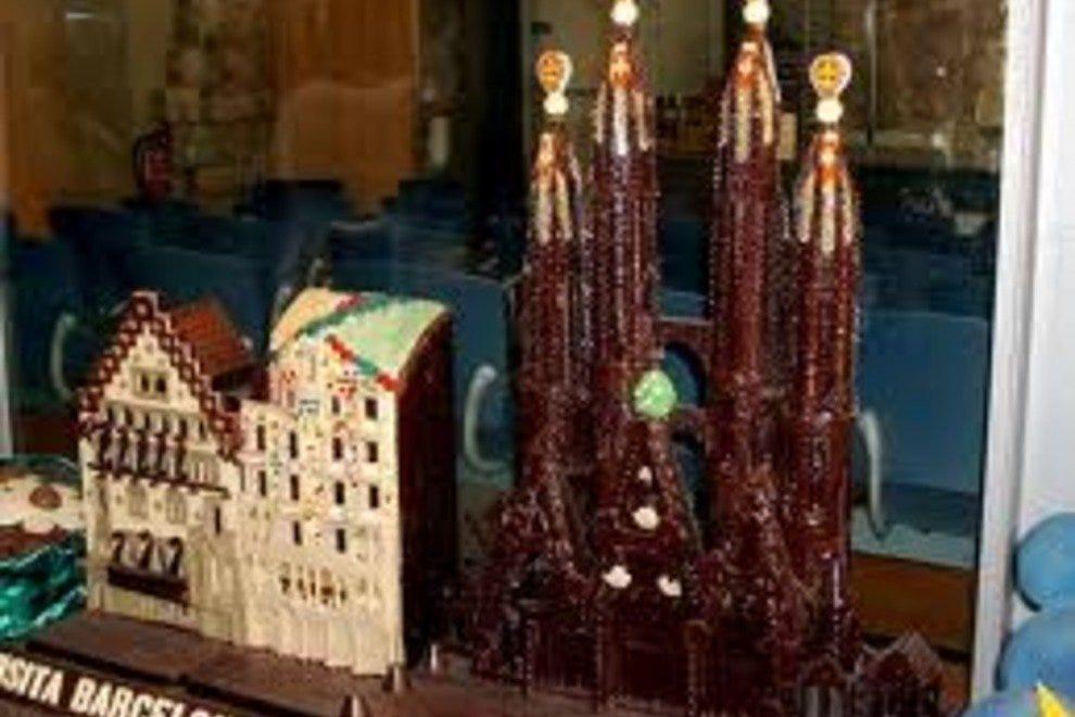 Музей Де Ла Ксоколата Музеи Барселоны Музеи Барселоны p Chocolate Museum  Barcelona 54 990x660 201405311837