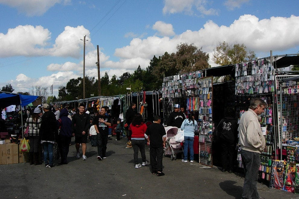 The San Jose Flea Market