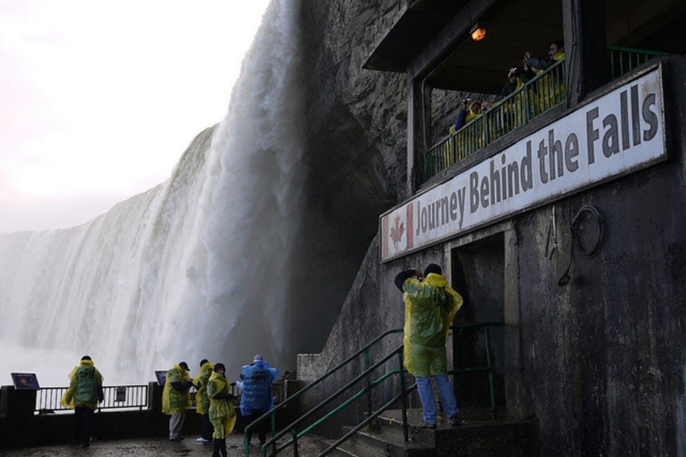 Journey Behind The Falls Niagara Falls Attractions Review 10best Experts And Tourist Reviews