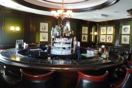 round robin bar  washington nightlife review