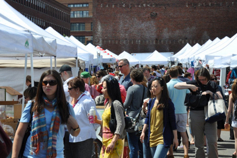 SoWa Scene at the Open Market