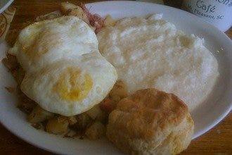 Sea Biscuit Cafe Charleston Menu